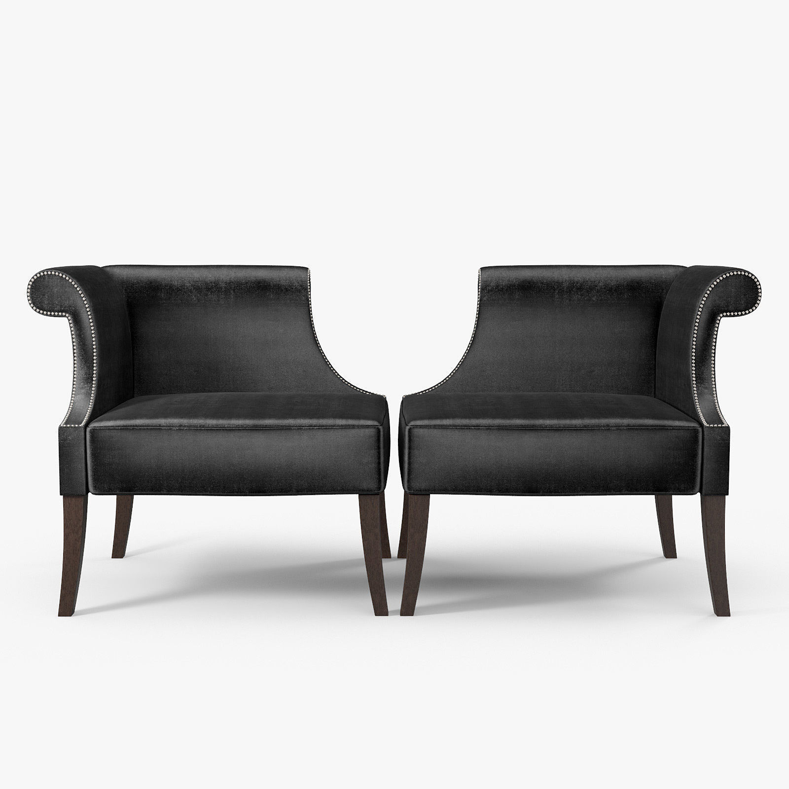 Louise Bradley Winnington Chair 3d Model Max Obj 3ds Fbx Mtl 1