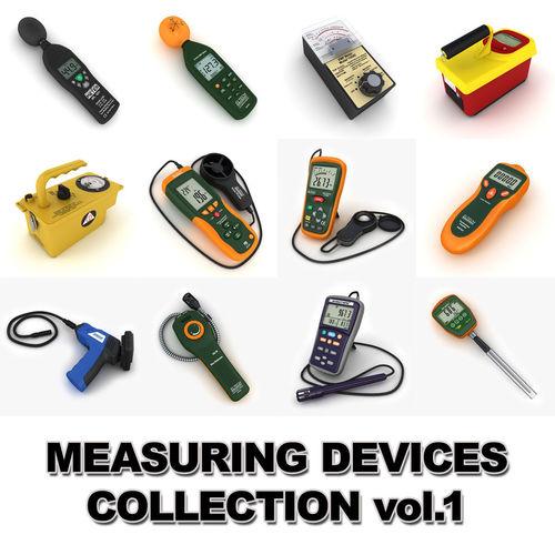 measuring devices vol 1 3d model max obj mtl 3ds fbx tga 1