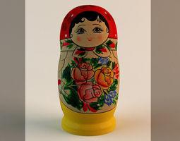 Babushka Doll 3D Model