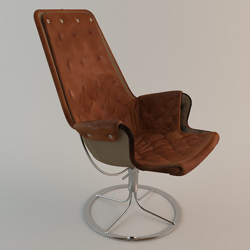 Charmant ... Bruno Mathsson Jetson Chair Dux 3d Model Max Obj Fbx 4 ...