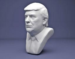 Donald Trump famous 3D printable model