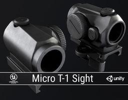 PBR Micro T-1 Sight 3D asset