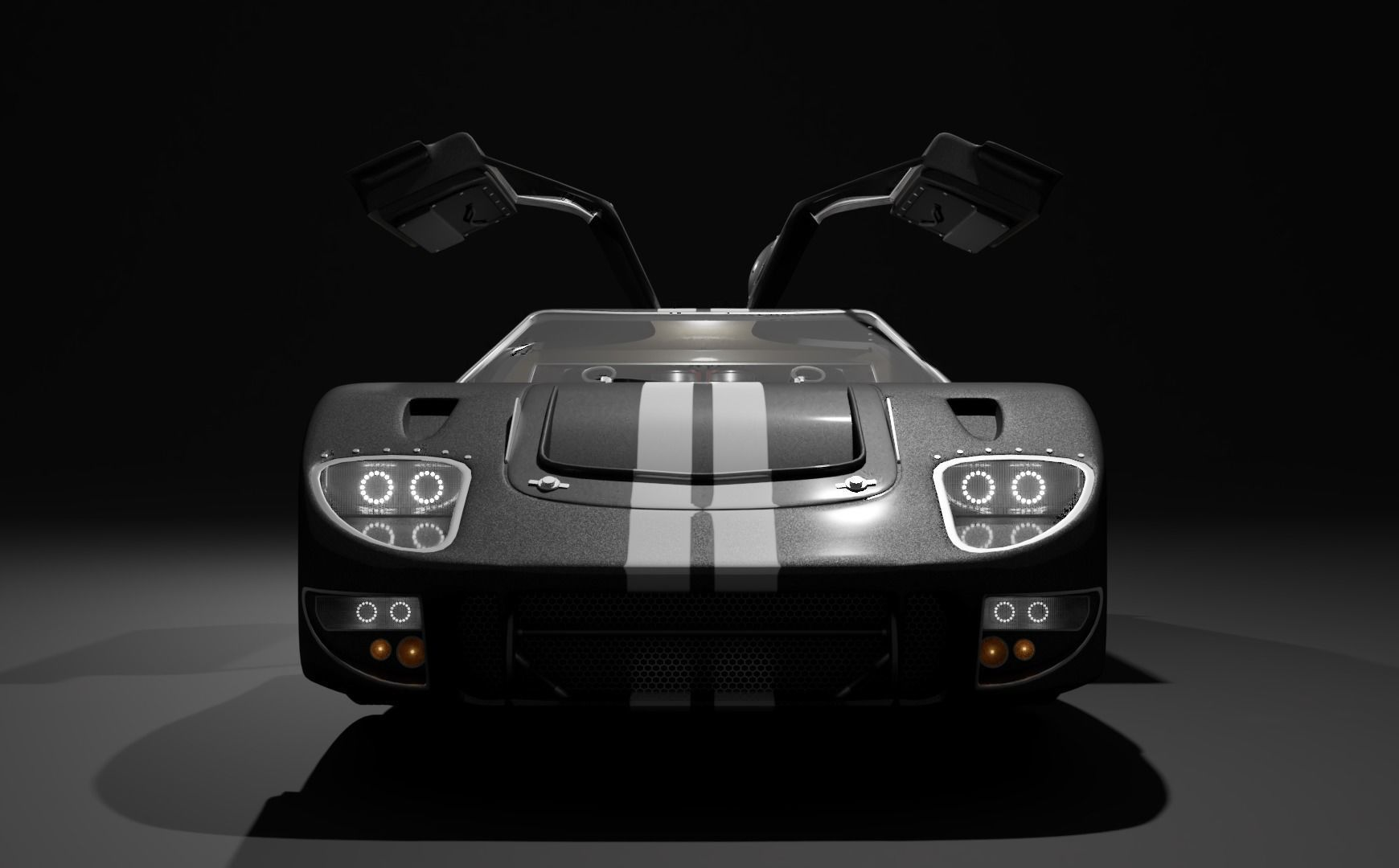 GT40 with Full Interior and Engine