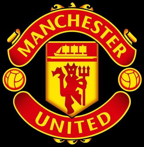 3d manchester united logo cgtrader
