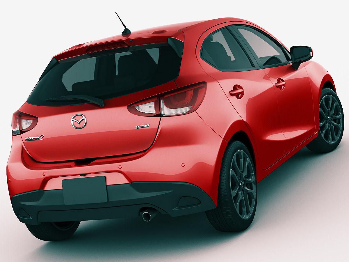 Mazda 2 Demio 3d Model Max Obj 3ds Fbx C4d Lwo Lw Lws Cgtrader Com