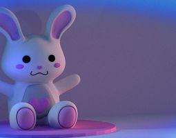 Bunny Plush 3D model