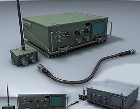 3D Military Radio Transceiver audio