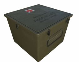 3D asset Military First Aid Kit