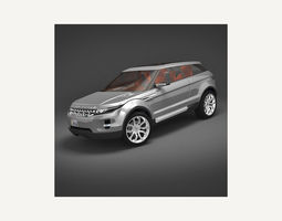 Land Rover LRX Evoque 3D