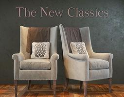 The New Classics Armchair 3D