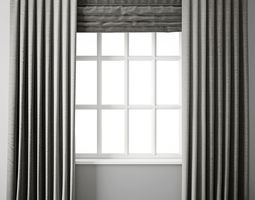 Curtain 88 with window 3D