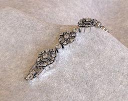 Bracelet 3D print model 3dmodel
