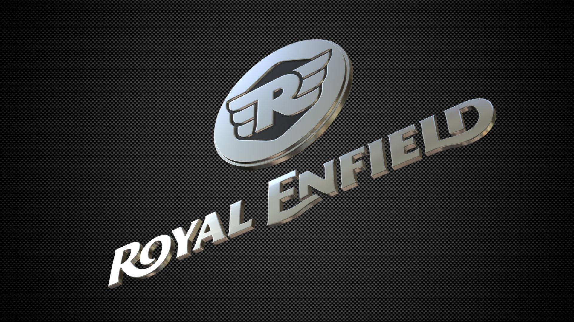 3d Royal Enfield Logo Cgtrader