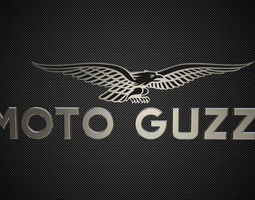 3D model moto guzzi logo