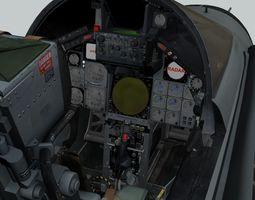 animated Tornado GR1 3D Cockpit plane