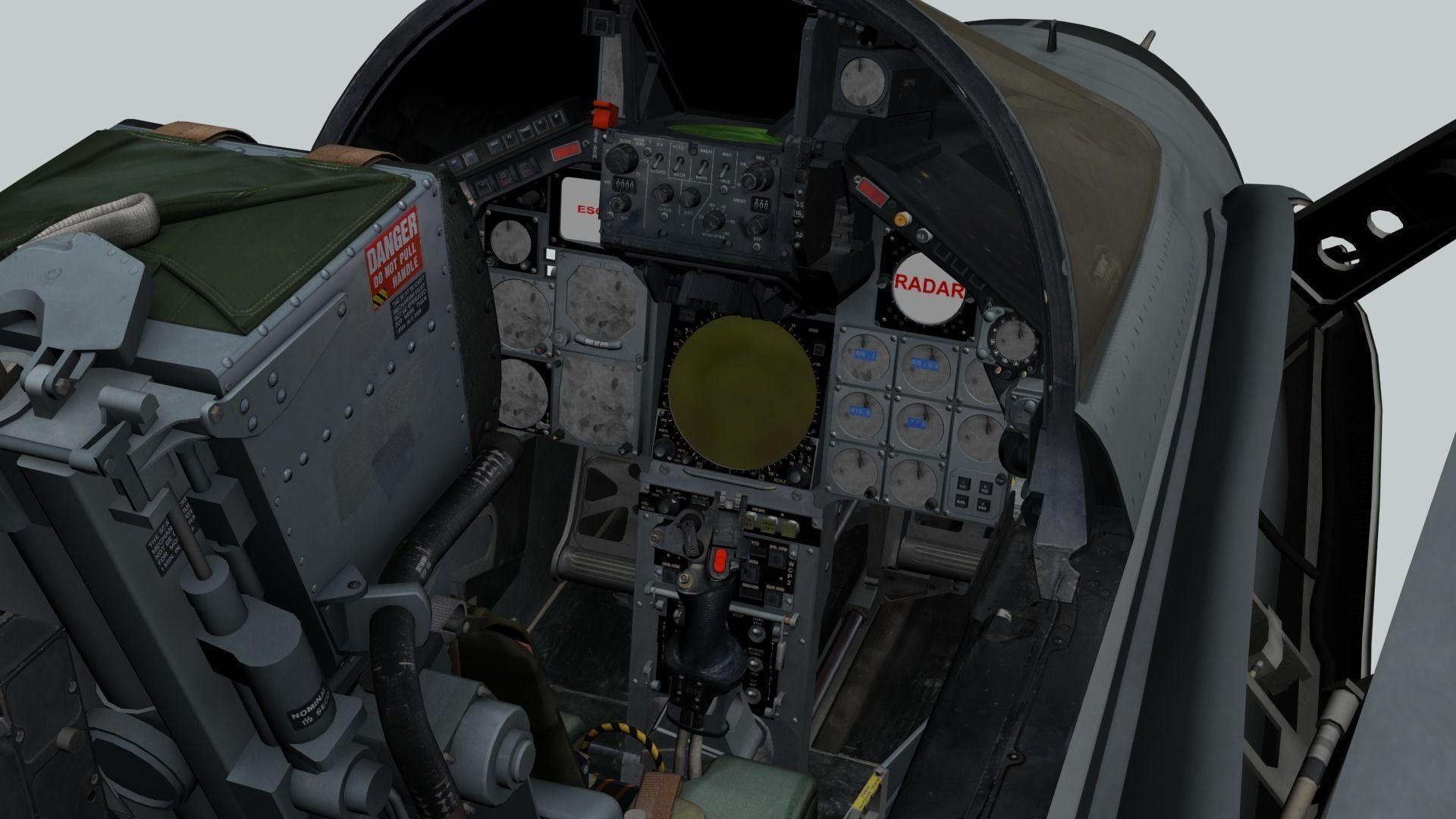 Tornado GR1 3D Cockpit | 3D model
