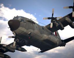 Lockheed AC-130 3D model