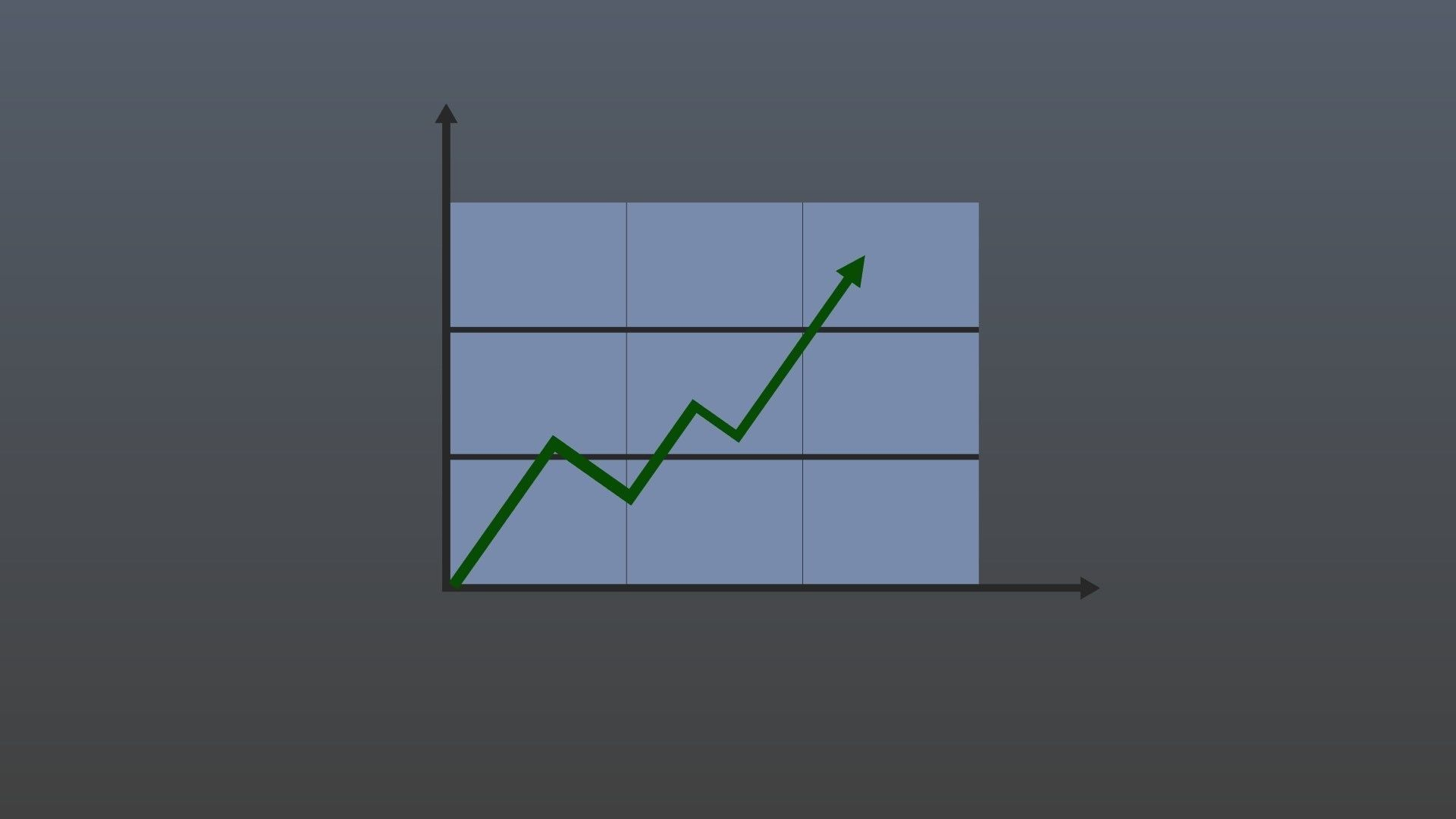 Low poly growth pattern