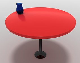 3D model Table with Vase