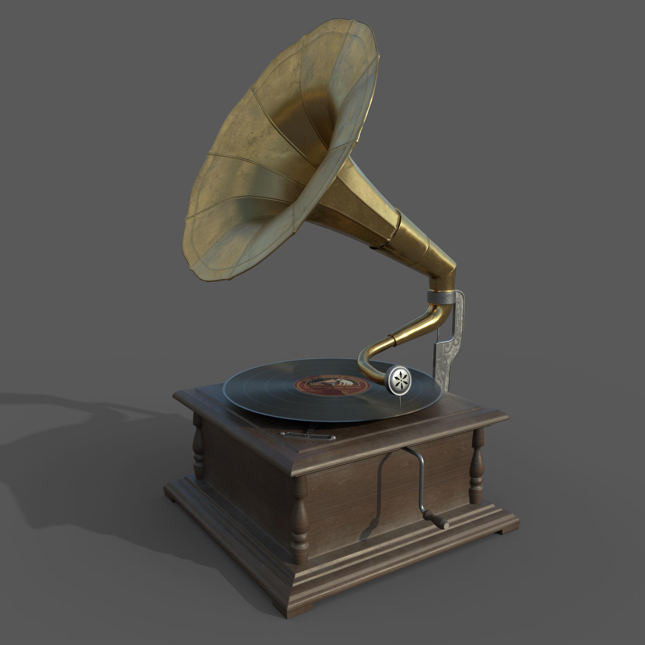 PBR Gramophone