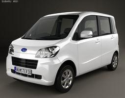 Subaru Lucra 2010 2012 3D model
