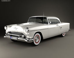 3D 2-door Oldsmobile 88 Super Holiday coupe 1954