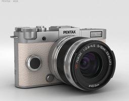 3D model Pentax Q-S1 Silver