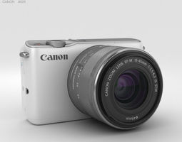 3D model Canon EOS M10 White