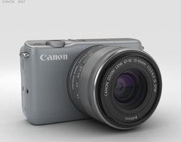 Canon EOS M10 Gray 3D