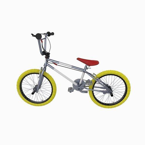 bmx bike 3d model fbx ma mb 1