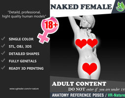 3D Naked Girl Printable 180223-02