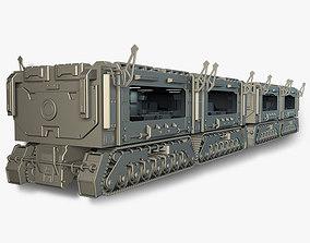 3D rigged Train