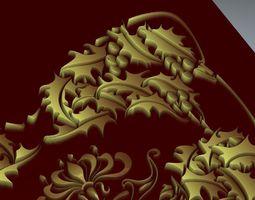 3D model relief pattern 3
