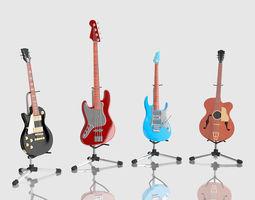 bass Guitar 3D