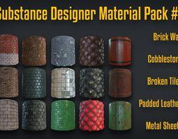 3D Substance Designer Material Pack 1
