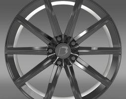 BB Audi R8 v10 plus rim 3D Model