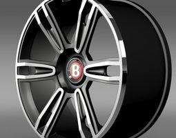 Bentley Continental GT rim 3 3D Model