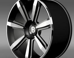 Bentley Continental GT rim2 3D Model