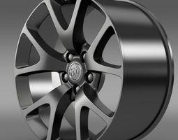 Buick Regal GS rim 3D Model