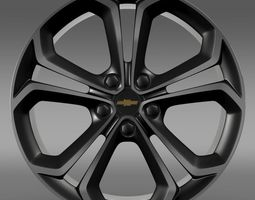 Chevrolet Volt Z spec concept rim 3D Model