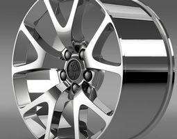 Holden Insignia VXR rim 3D Model