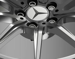 Mercedes Benz AMG GT rim 3D Model