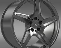 Mercedes Benz AMG GT S rim 3D Model