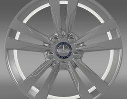 Mercedes Benz S 350 rim 3D Model