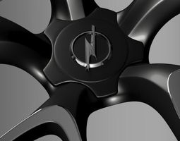 Opel Insignia OPC Concept rim 3D Model