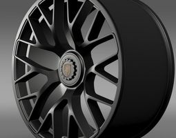 Porsche GTS 2015 rim 3D Model