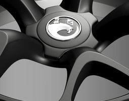 Vauxhall Insignia VRX rim 3D Model