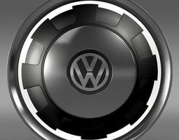 VW Beetle Classic rim 3D Model