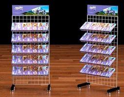 shop rack 2 3D Model