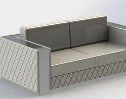 3D diamond sofa